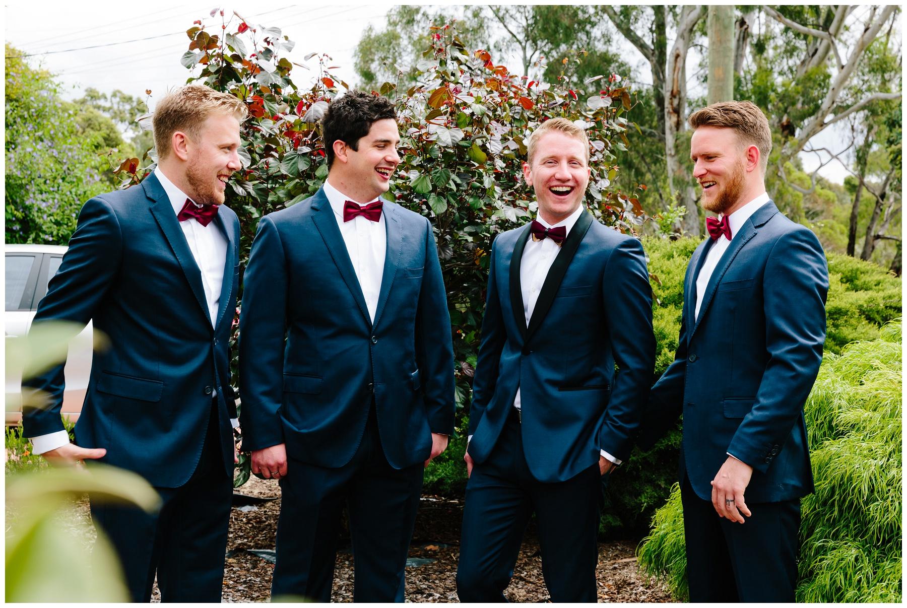 navy and burgundy wedding