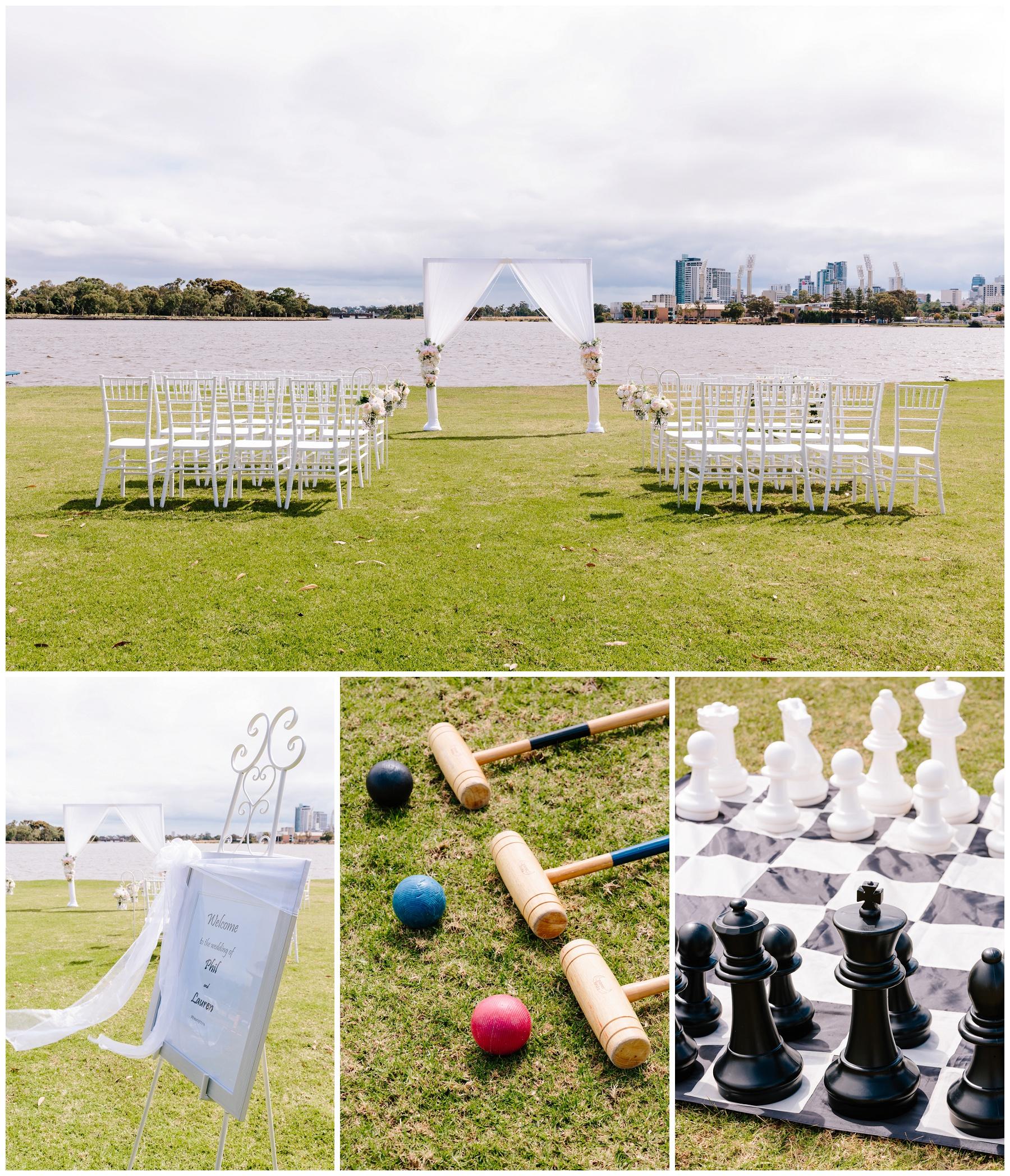 ceremony set up perth