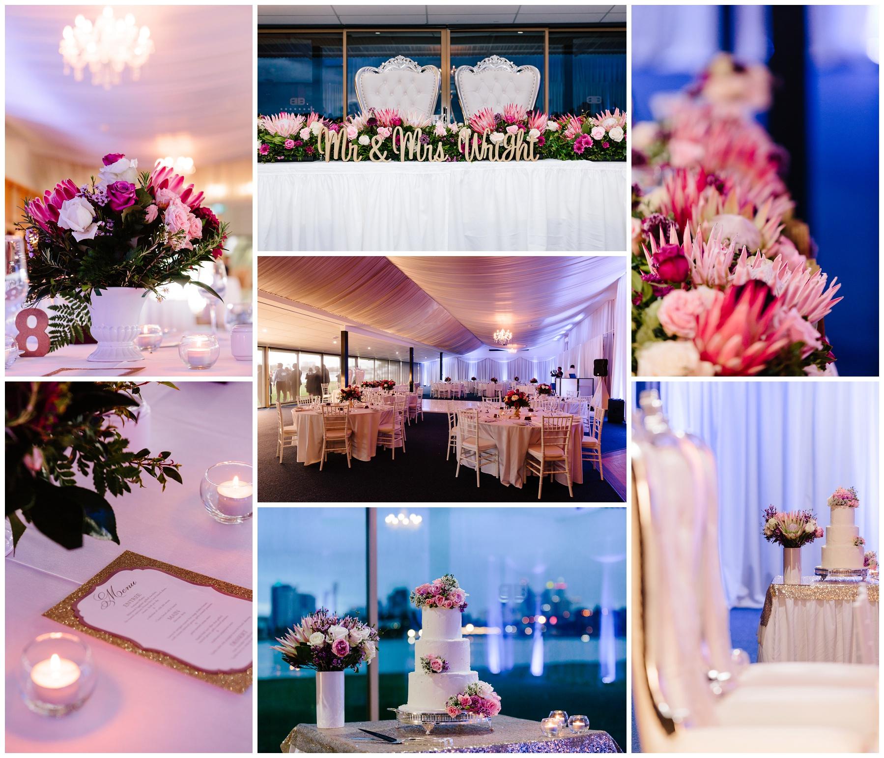 Burswood on Swan wedding