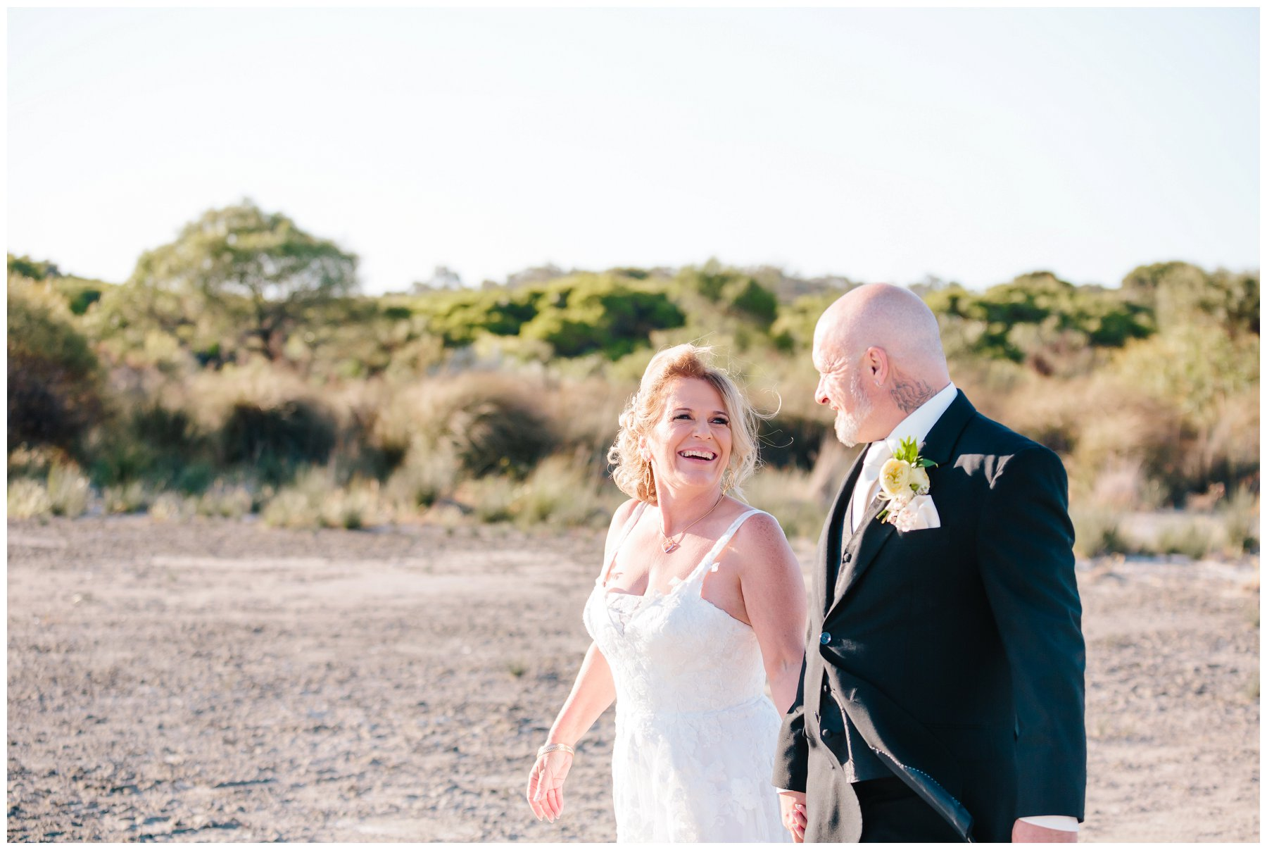Baldivis salt lake wedding