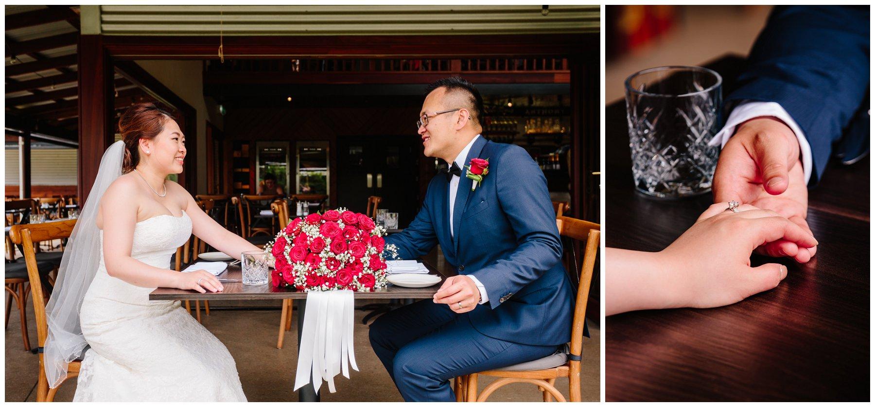 wedding at Riverbank Estate
