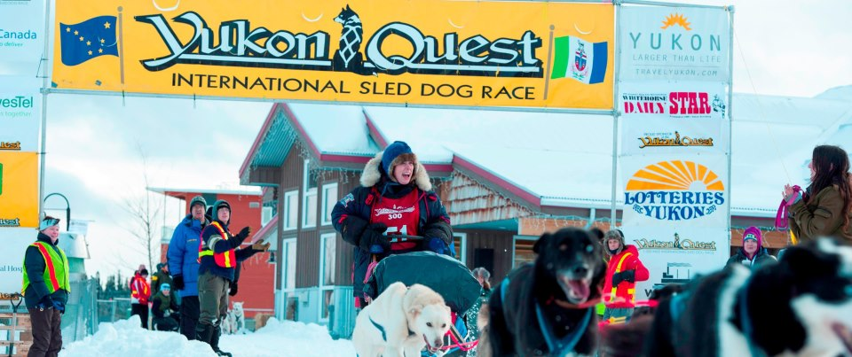 Start of the 2013 Yukon Quest 300.  In six short months we'll be back for the start of the 1000 mile race!