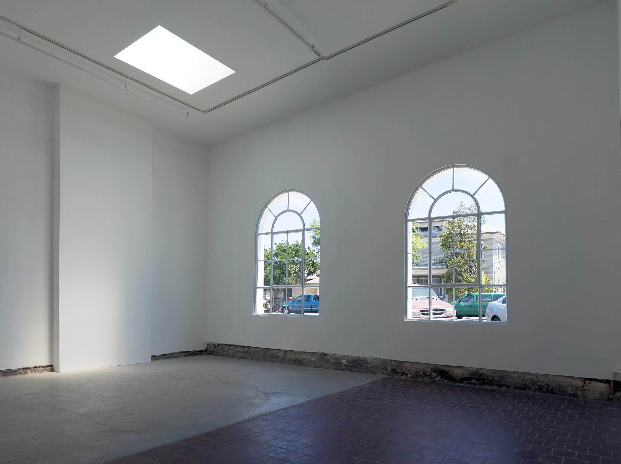 ICE Gallery windows