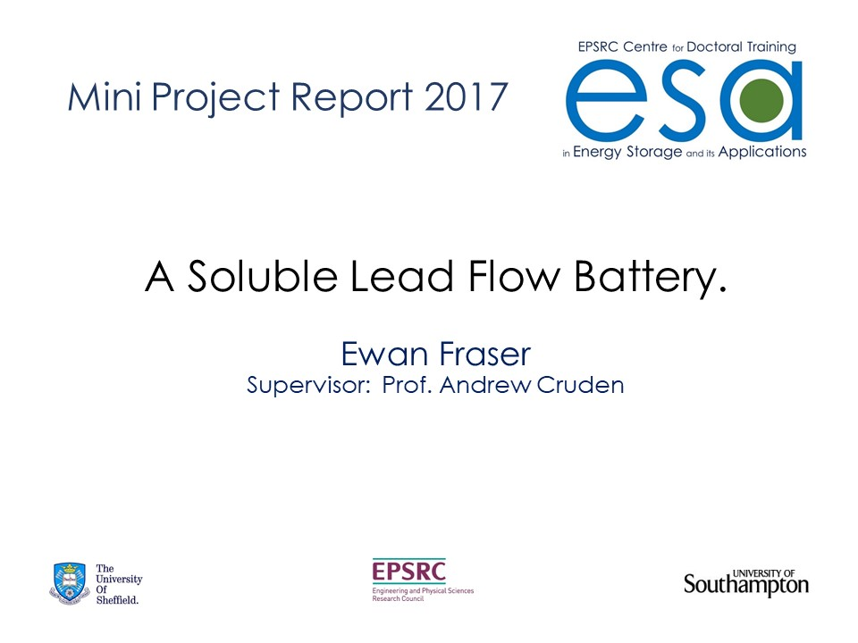 A Soluble Lead Flow Battery.