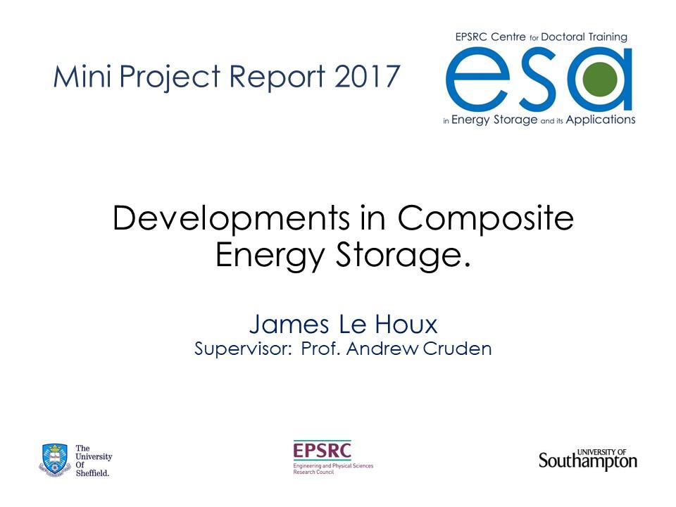 Developments in Composite Energy Storage.