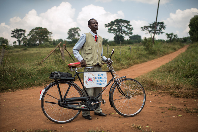 A Community Paralegal in Uganda, East Africa