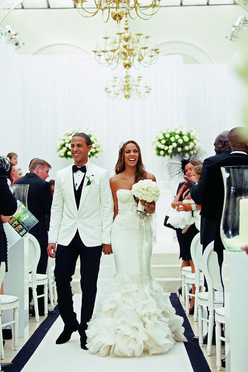 Cam & Hooper image - Photo credit:HELLO magazine  Rochelle and Marvin Humes|Blenheim Palace