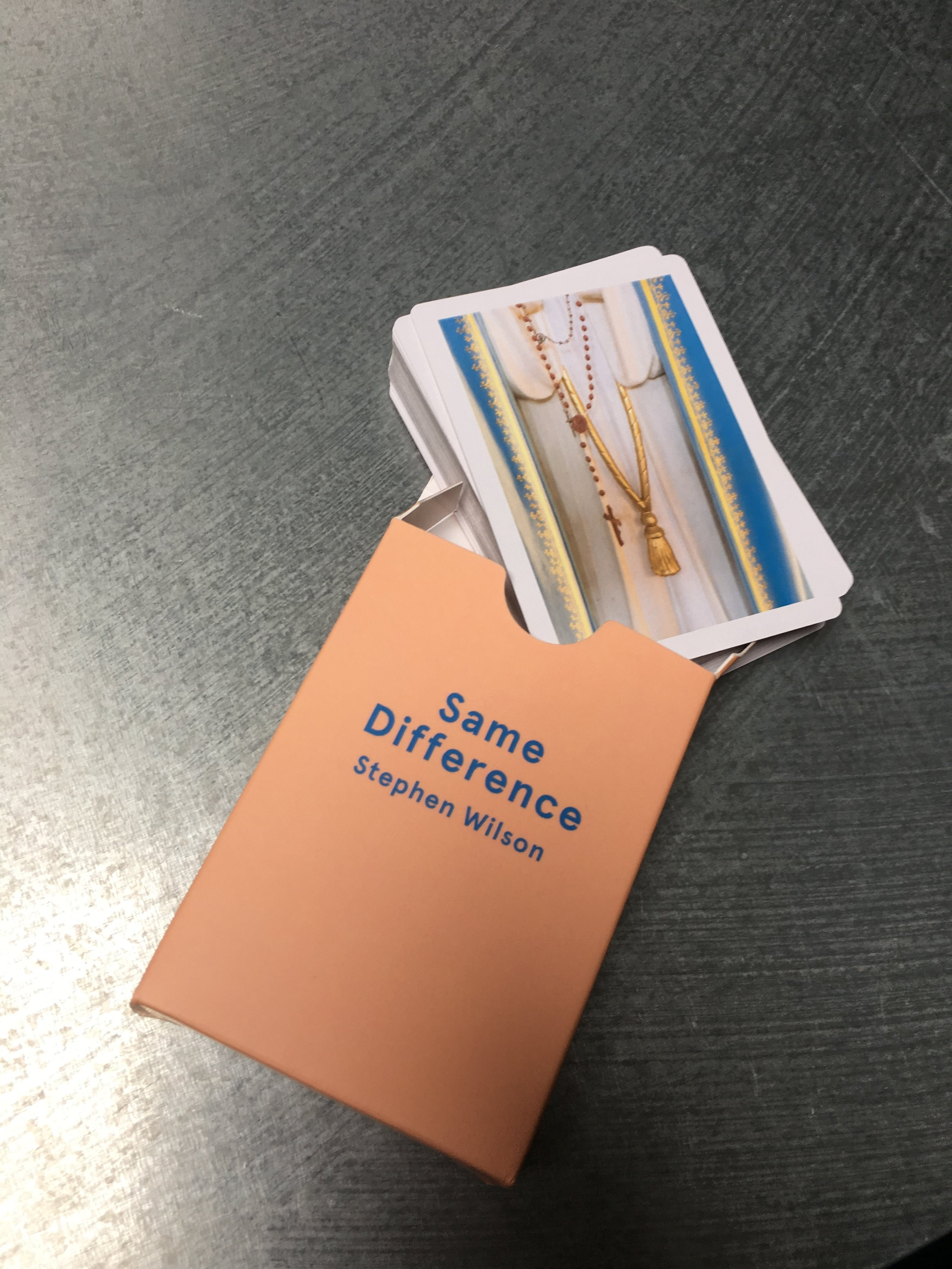 Same Difference Playing Cards Box 1