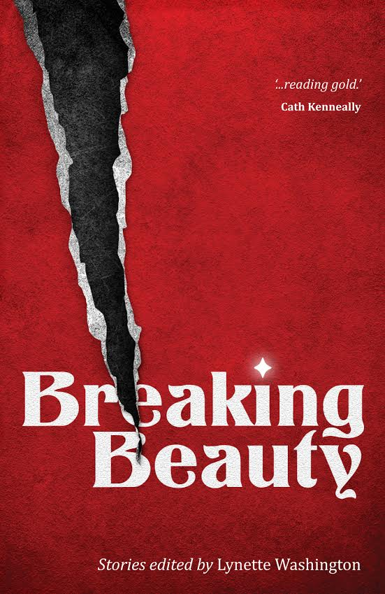 The stunning cover of  Breaking Beauty , by MidnightSun's designer, Kim Lock.