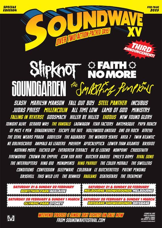 Image via Soundwave Festival's Facebook
