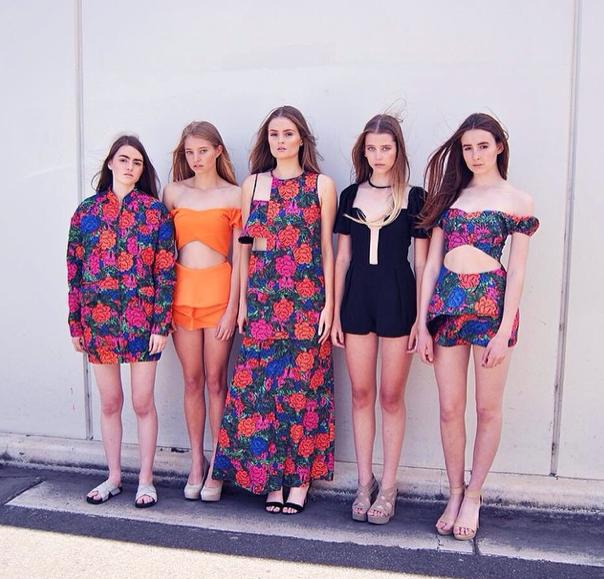 Just a few of Azalea's incredible talents, wearing casper&pearl    via Azalea Models
