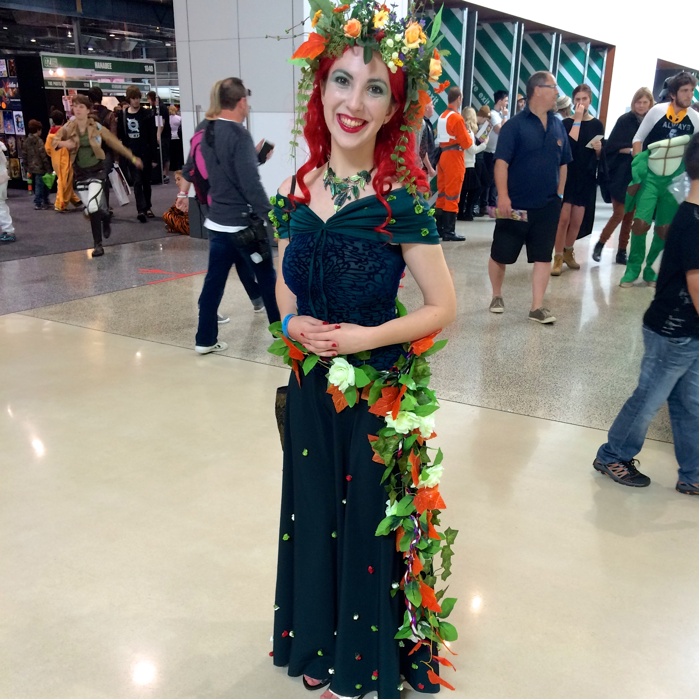 Poison Ivy meets Flower Power.