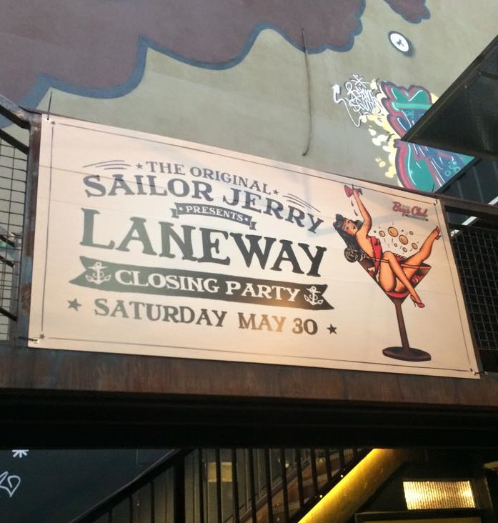 via Laneway the Third