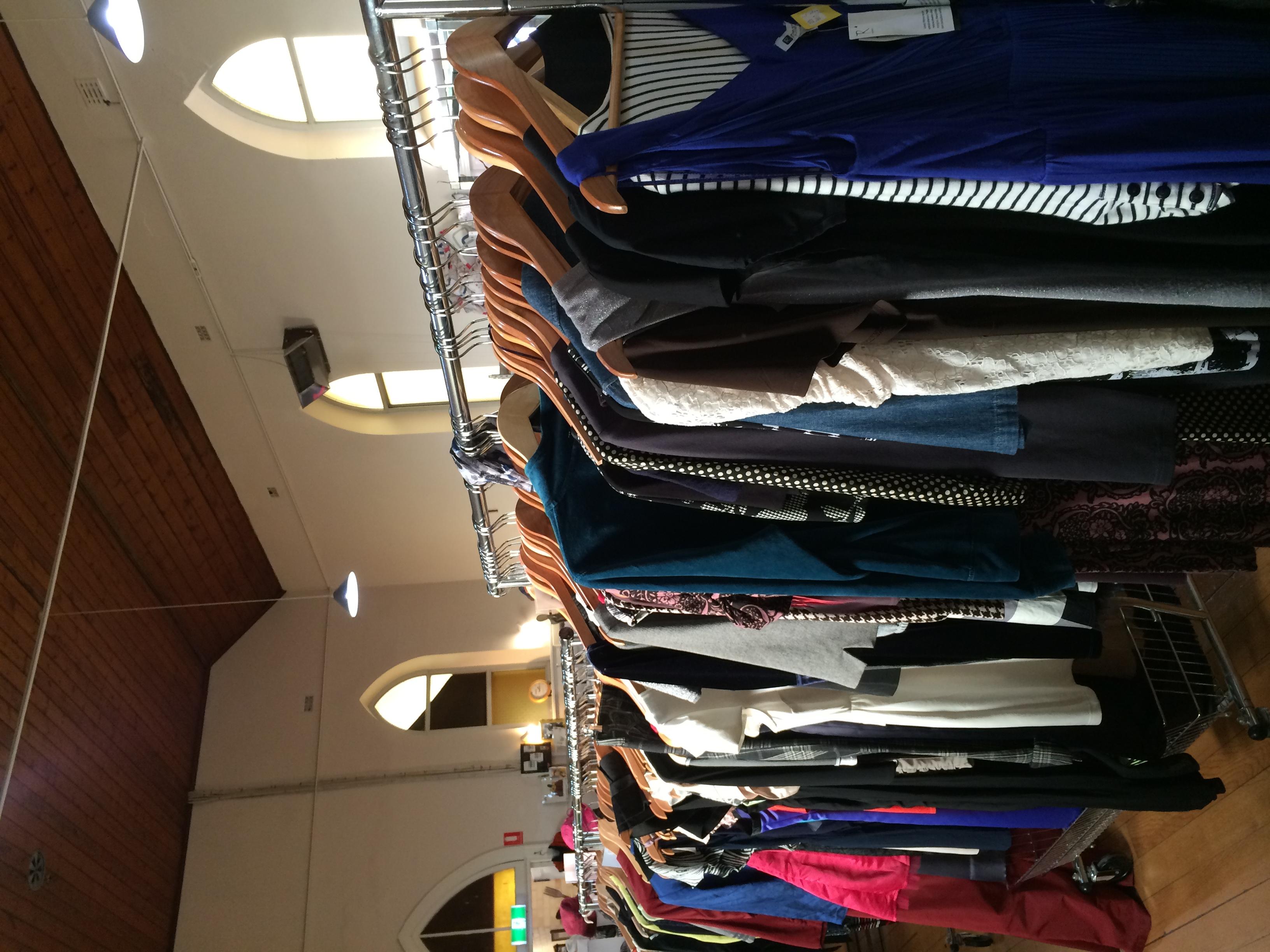 Biggest range of clothes