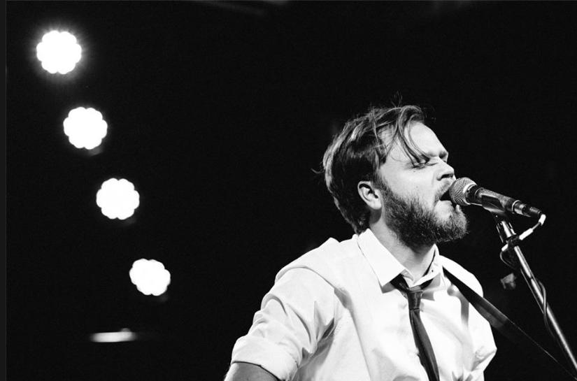 Front-man Alastair Cairns performing at FBi Social, 2014 via Wells
