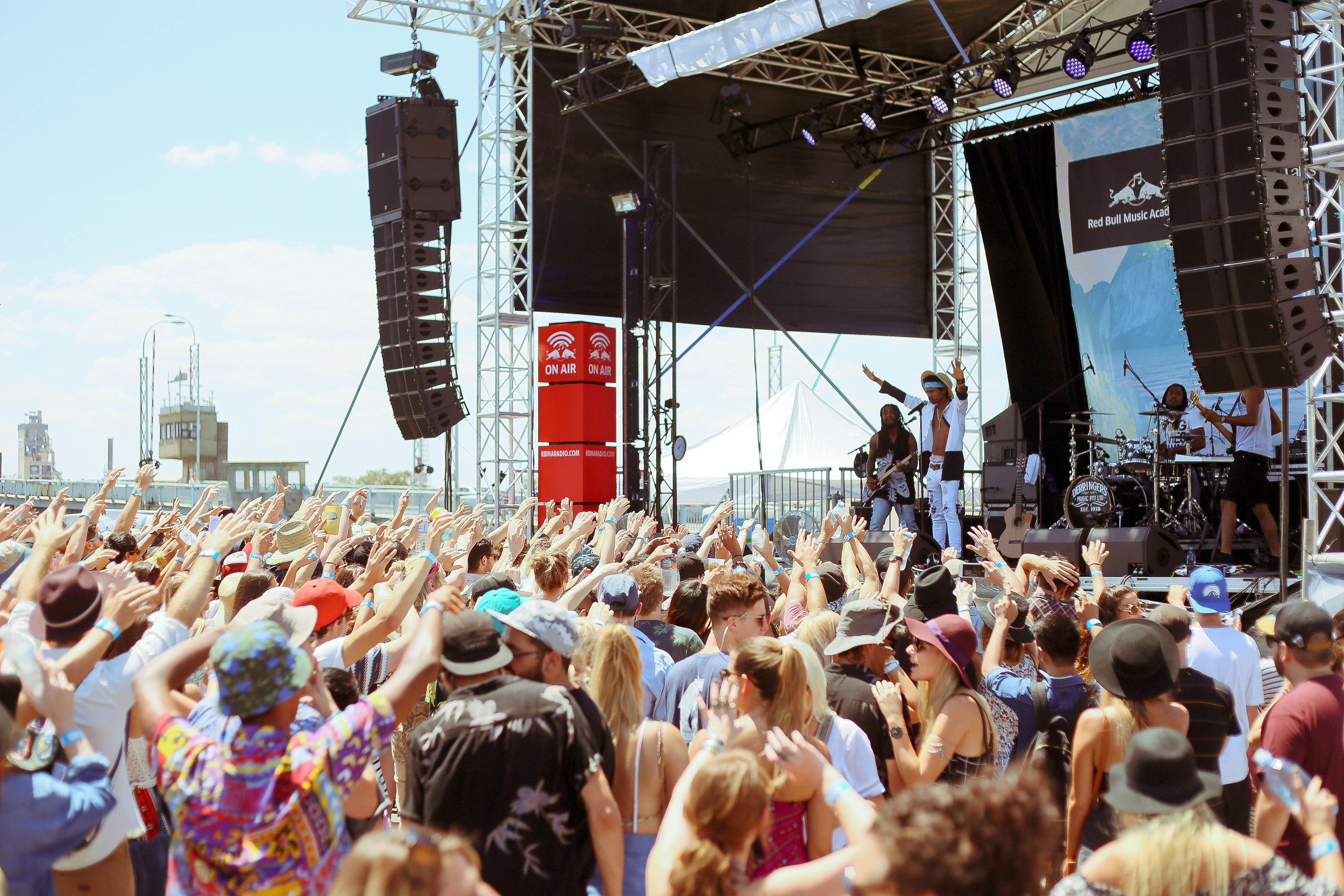 Laneway Festival 2015, by Wade Whitington for This is Radelaide