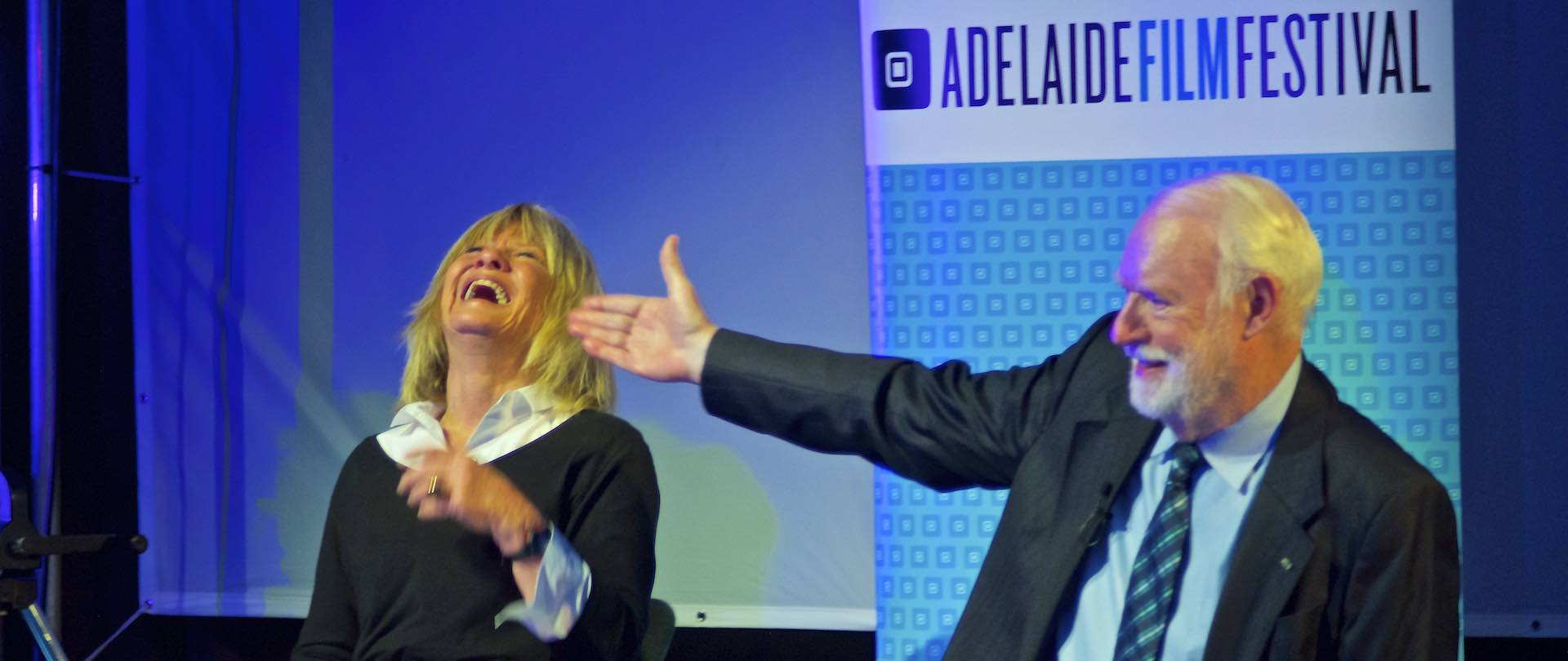 Margaret and David hear quiz-goers pronounce mise-en-scene via The Adelaide Film Festival