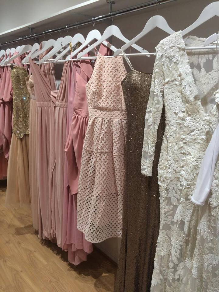 The exquisite, exclusive gowns in Something Borrowed, Unley