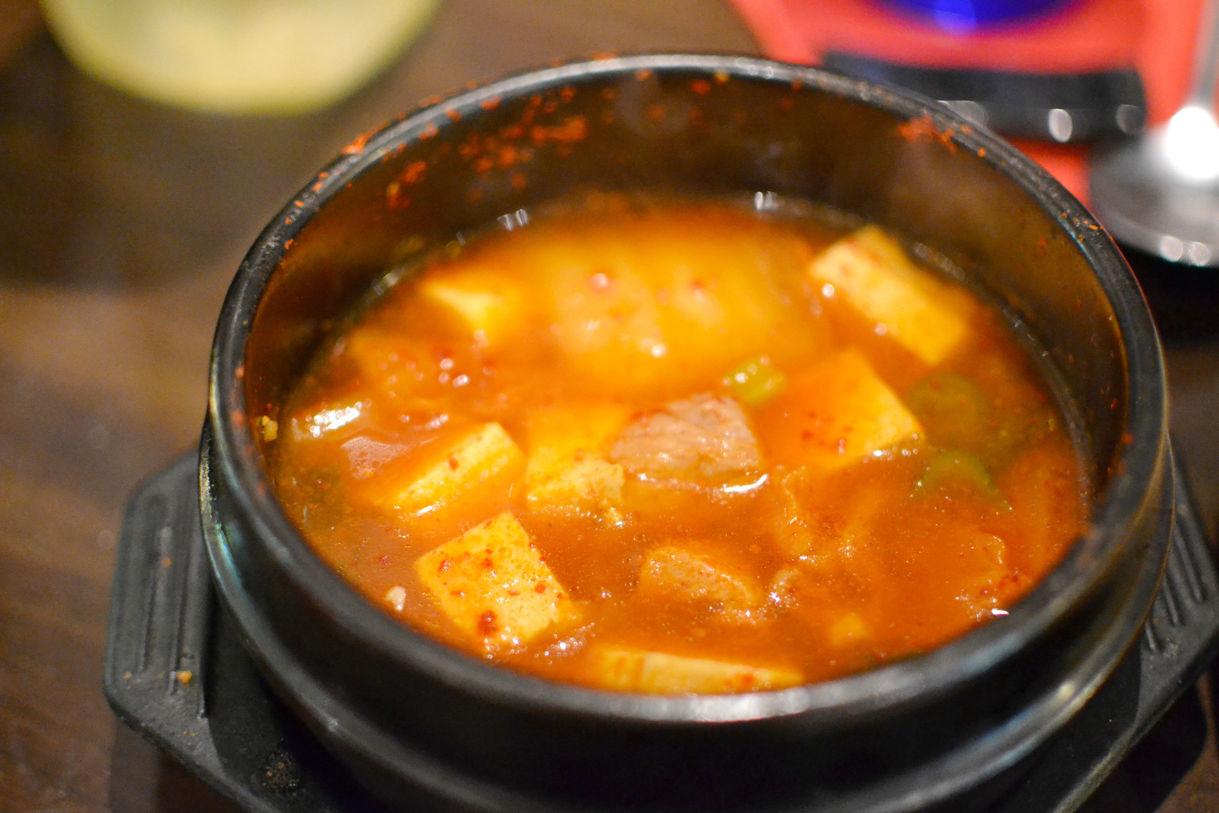 Kimchi Jjigae (Korean stew)