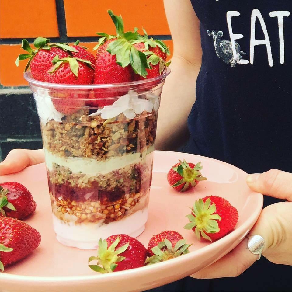 Argos delicious blend of berries, yoghurt and muesli.