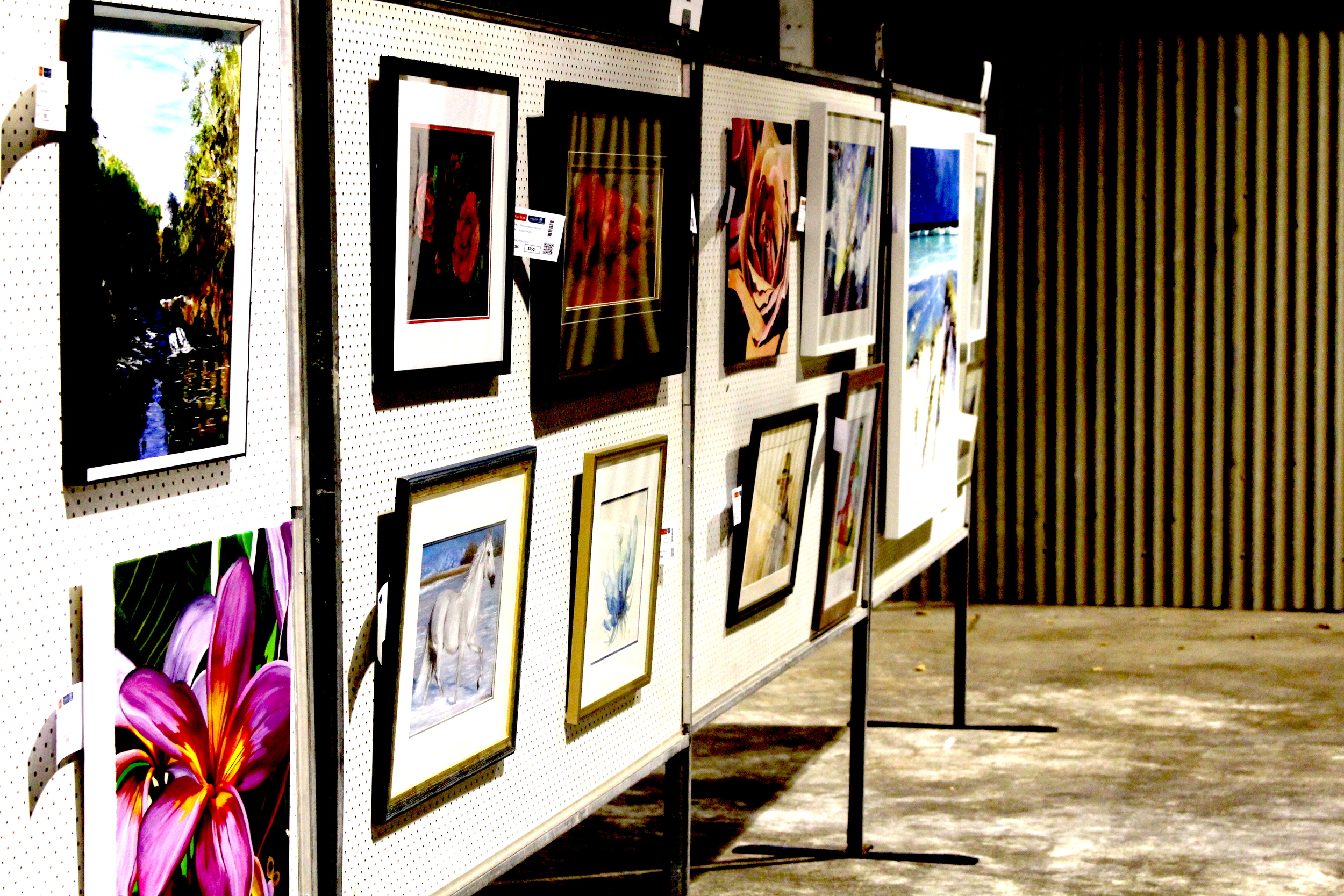 Port art exhibition
