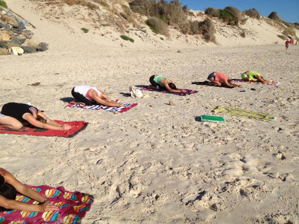 Image via Beach Yoga Adelaide