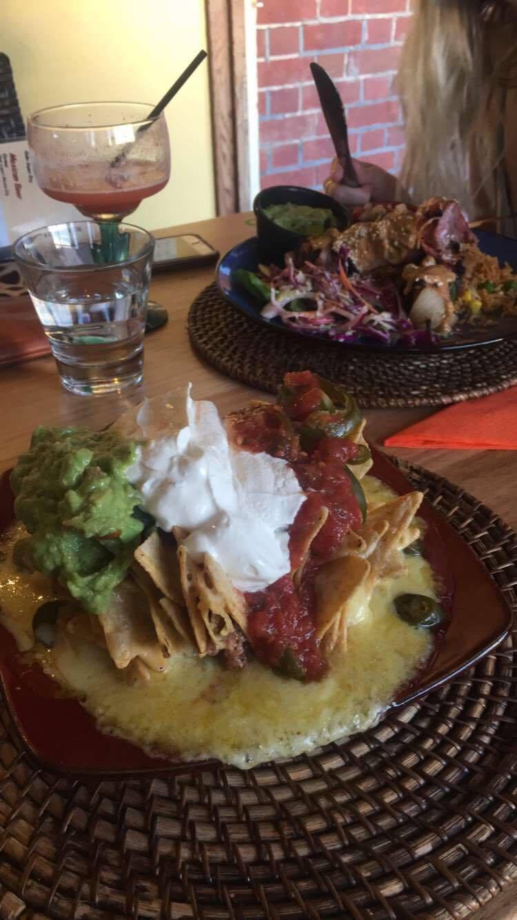 Half serve Special Nachos (yum)