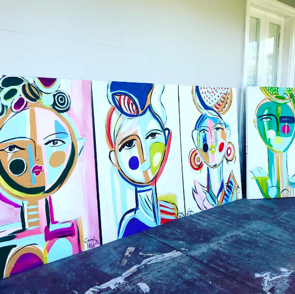 Caroline Wall Art