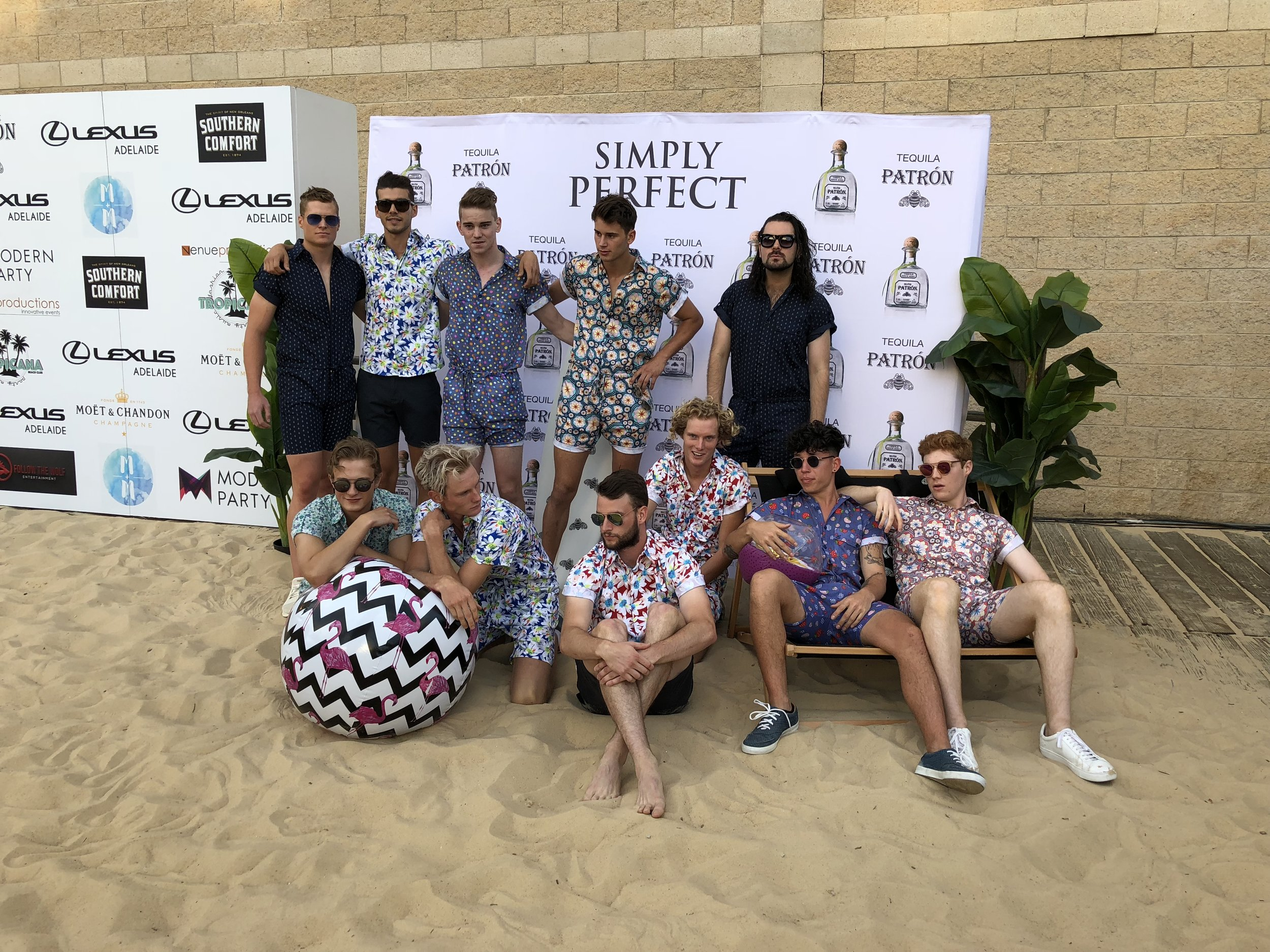 RompStomp Squad showing us rompers are for dudes too!
