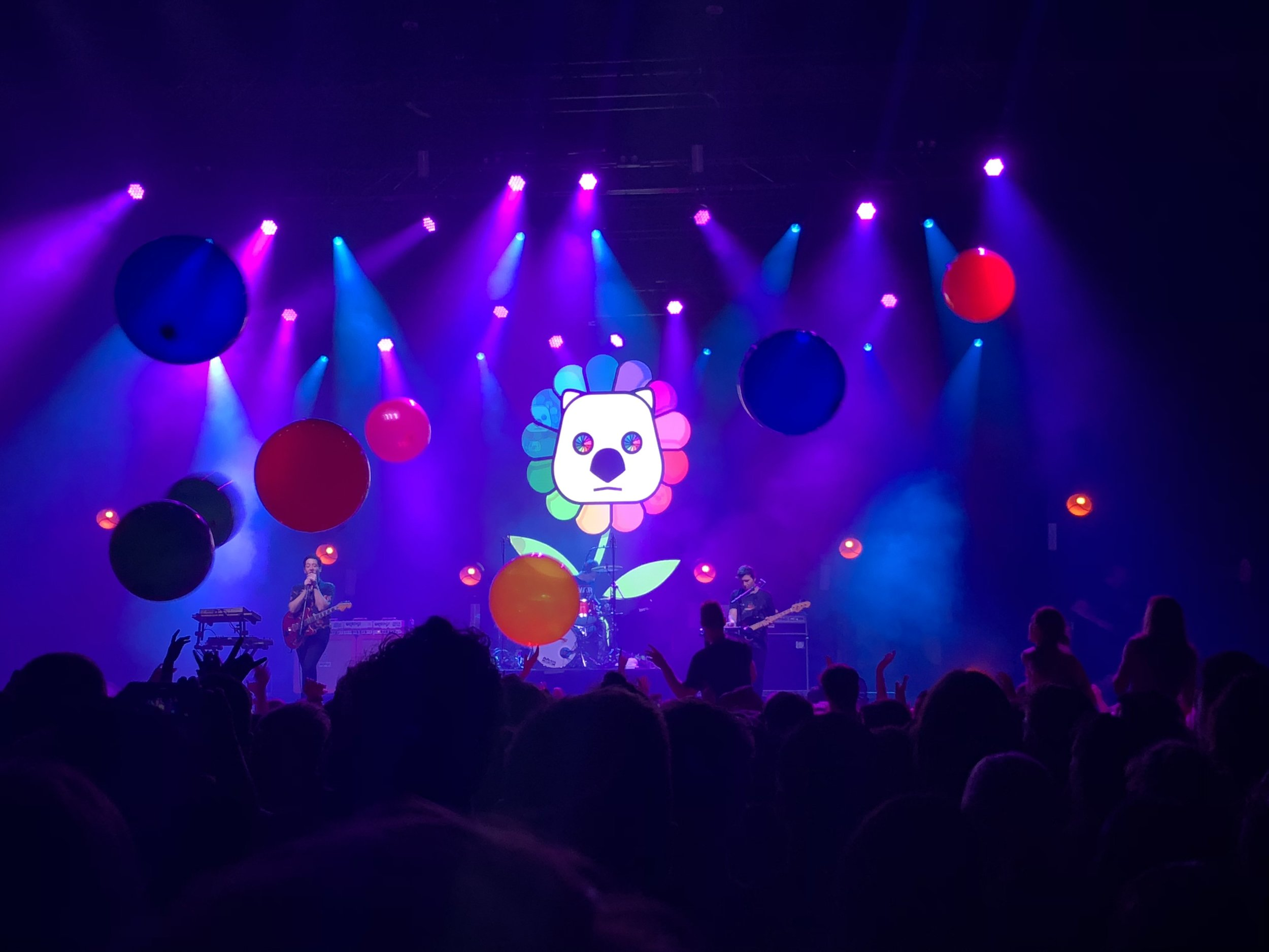 The Wombats at the Adelaide Entertainment Centre