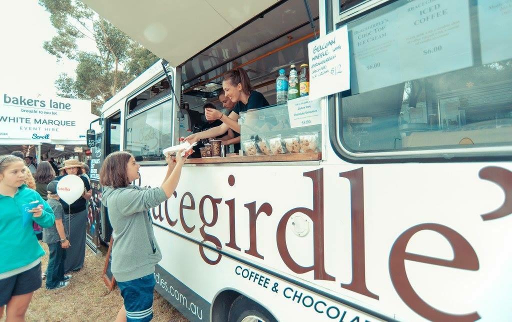 Bracegirdle's food truck