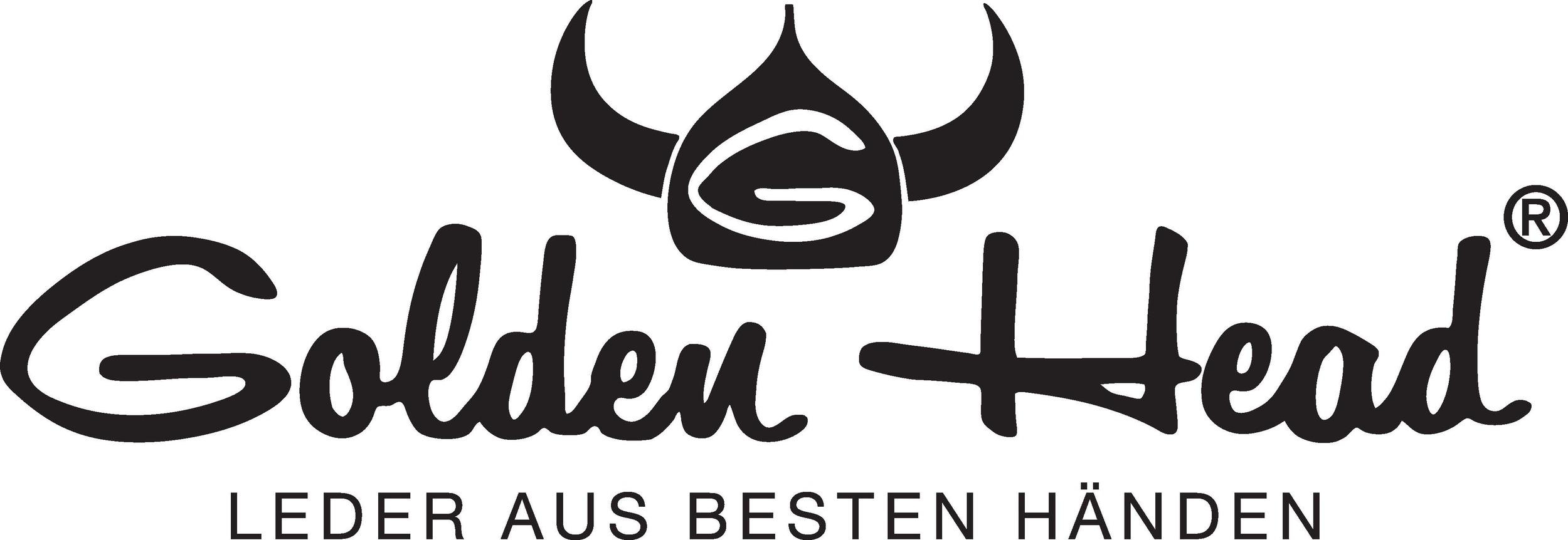 Golden Head Logo_black mit Claim EPS vektorisiert.jpg
