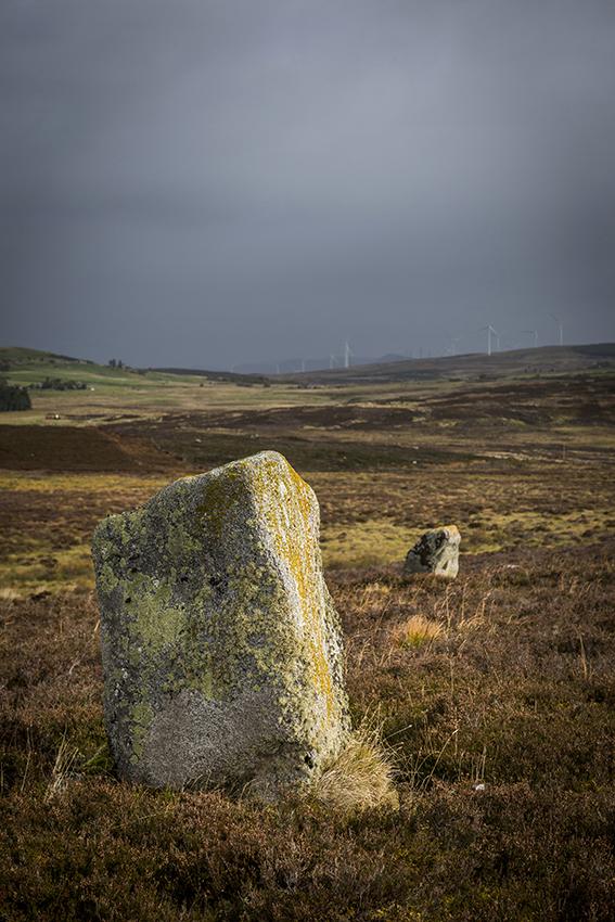 Achnagarron standing stones