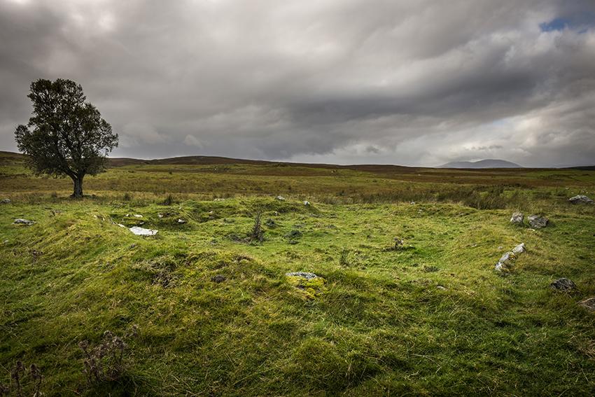 Loch Naver hut circle (not necessarily prehistoric)
