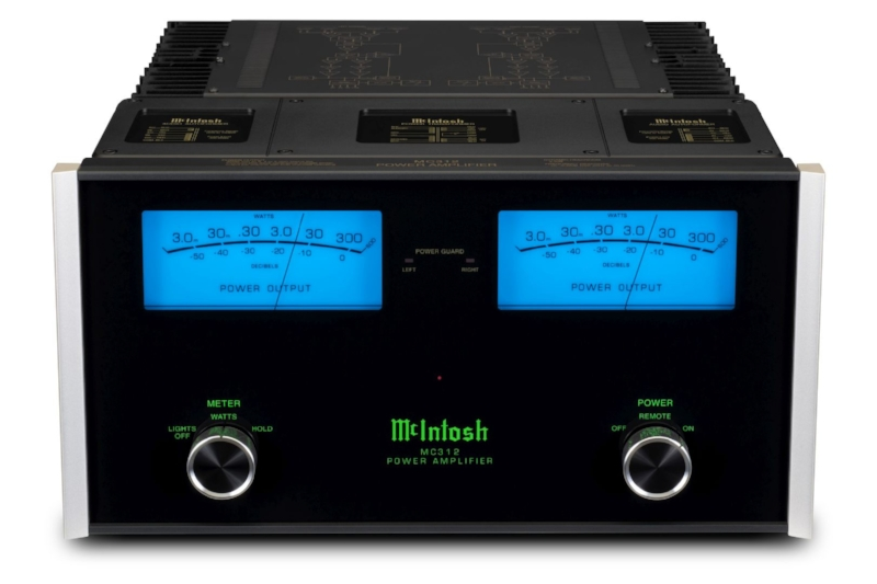 MC312 stereo power amp - Effortless power meets a classic aesthetic
