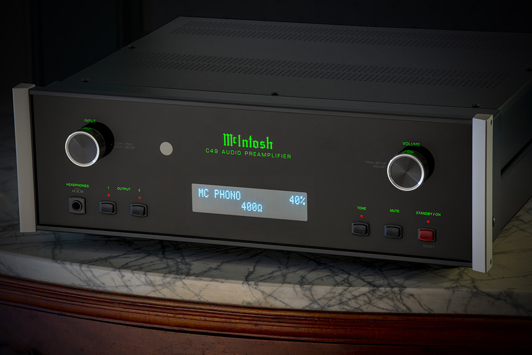 Future-resistant C49 Preamp has ugradable digital - One of the world's most versatile and future-resistant pre-amps, the C49 combines plug and play turntable compatibility with an upgradable high-resolution DAC that keeps pace with fast-moving changes in digital technology.