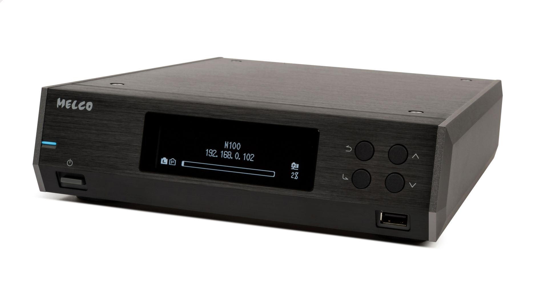 Melco black units and software debut in UK - Powerful new music search and metadata tool, Melco Intelligent Music Library, PLUS the new black-finish compact-chassis digital music libraries, revealed for the first time in the UK at the North West Audio Show 2019