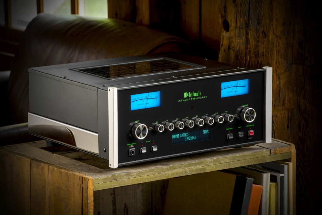 New DA2 DAC module debuts in new C53 Preamp - New C53 preamp unites digital and analogue (incl. turntables) devices, offering 16 inputs, a headphone output, eight-band EQ, plus McIntosh's all-new DA2 High-Res DAC with HDMI (ARC) (Embargoed until July 10th 14.00 UTC)