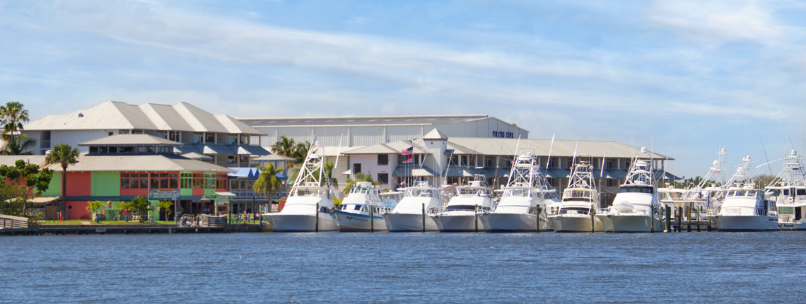 Pirates Cove Resort and Marina: walking distance from studio