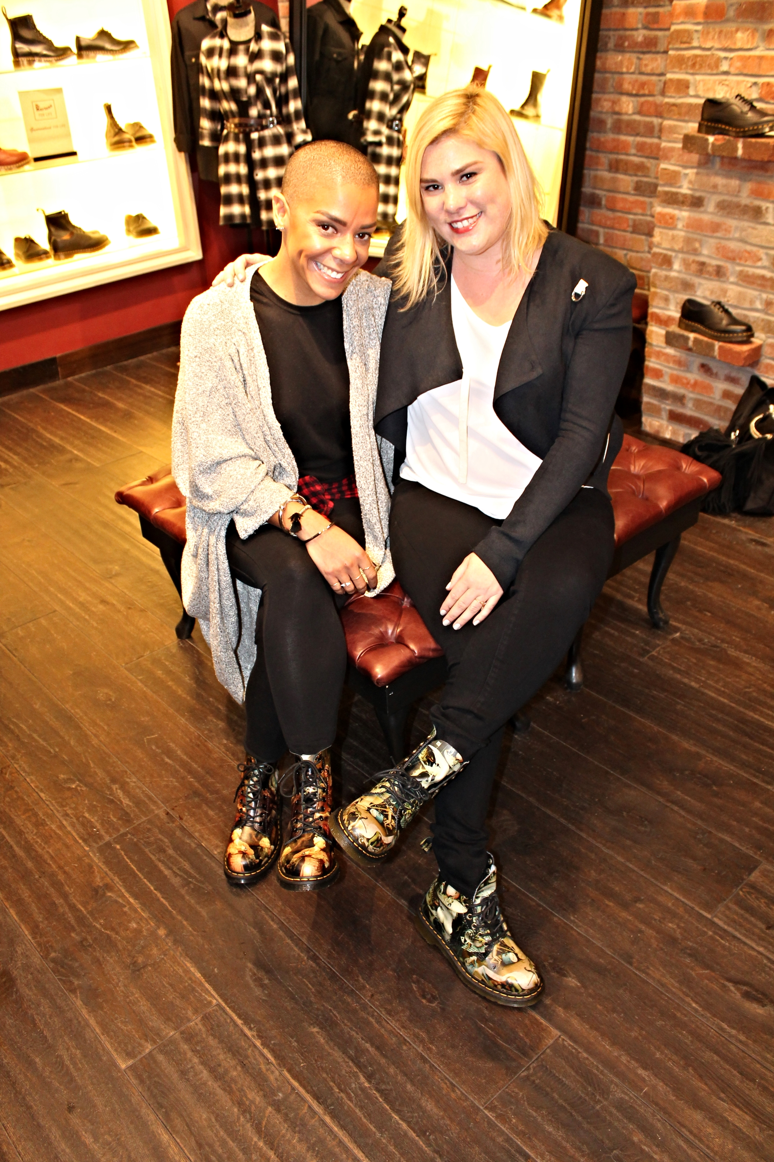 With brand ambassador Jessica Hoy