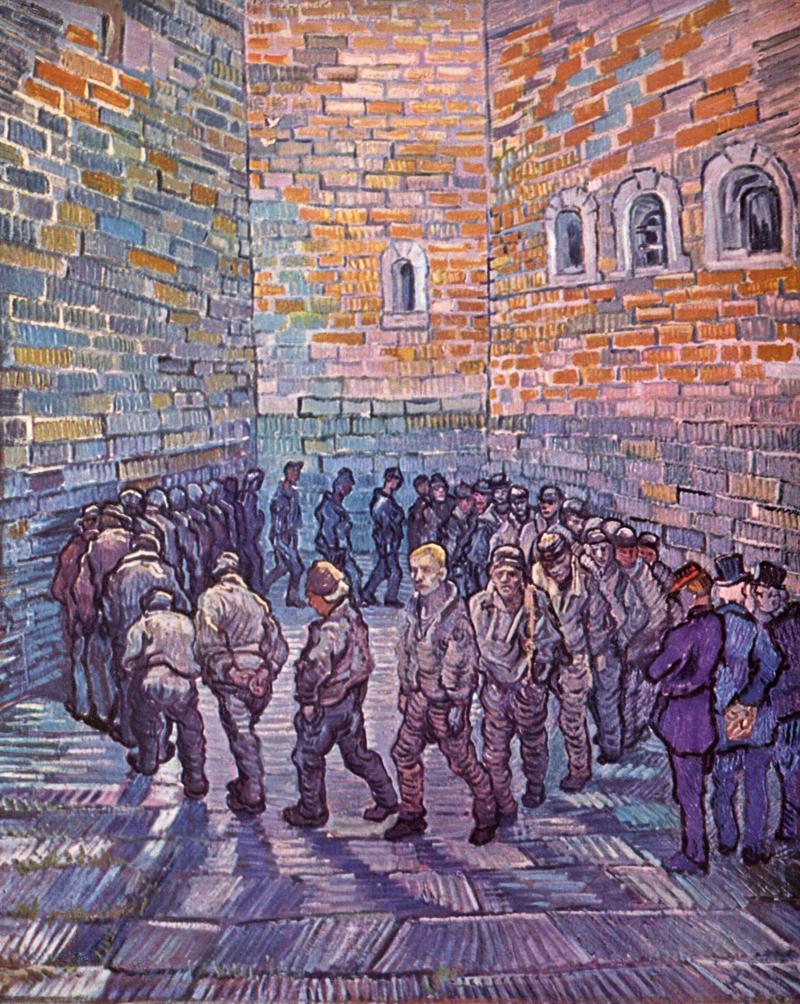 """Prisoners Exercising,"" Vincent Van Gogh"