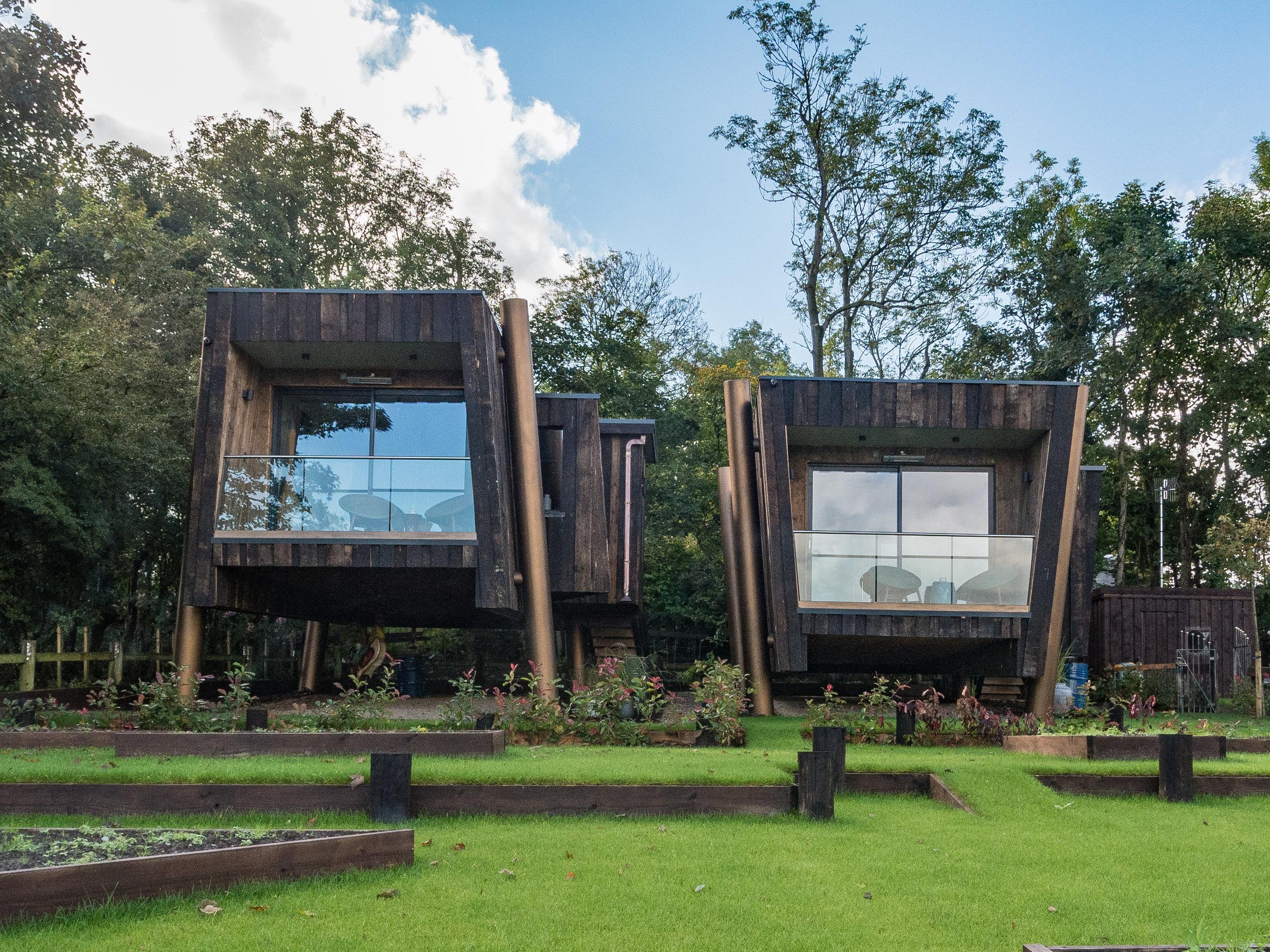 NOW OPEn - Two new luxury studio cabins