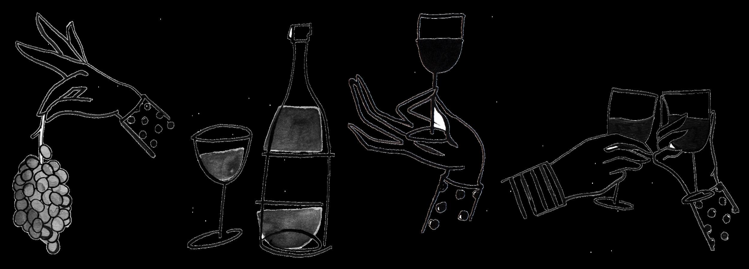 drink list illustration