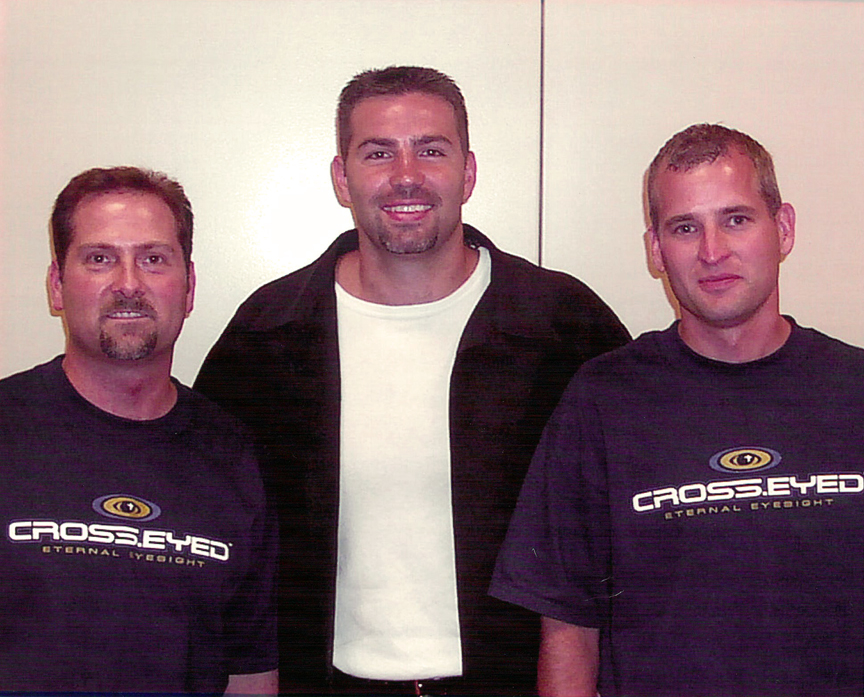 Holt Condren, Kurt Warner and Scott Masters.
