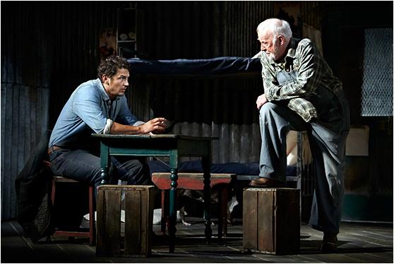 James Franco and Jim Norton