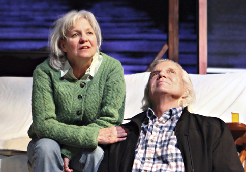 Suzanna Hay and John Davidson in ON GOLDEN POND (Donna Ford Photography)