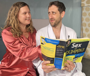 Elizabeth Simmons & Michael Maloney in SEXY LAUNDRY at Millbrook Playhouse (2019)