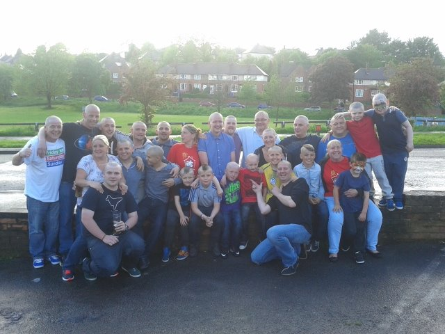 Our first PACT Charity fundraiser (Headshave)
