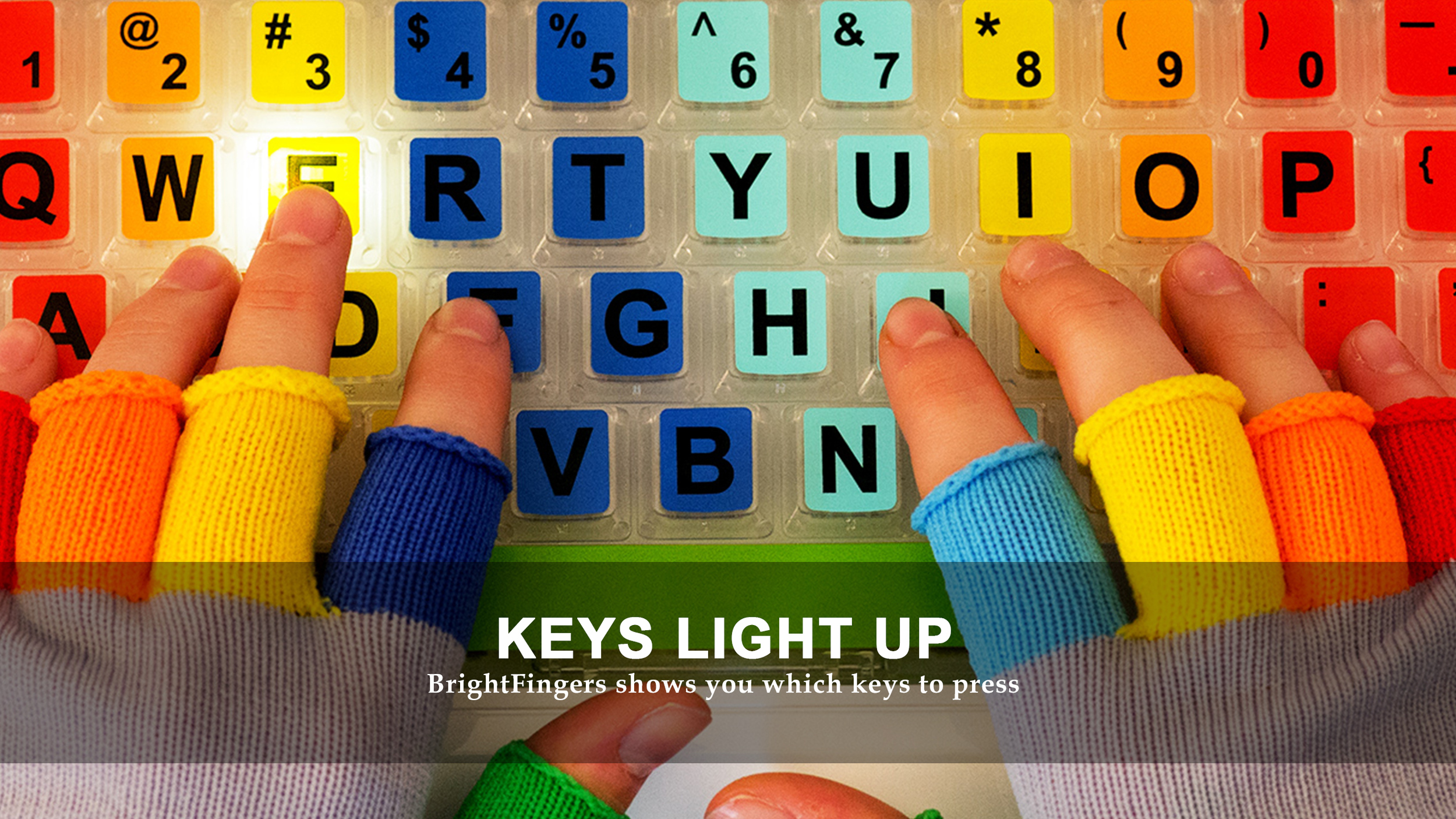 KEYS LIGHT UP