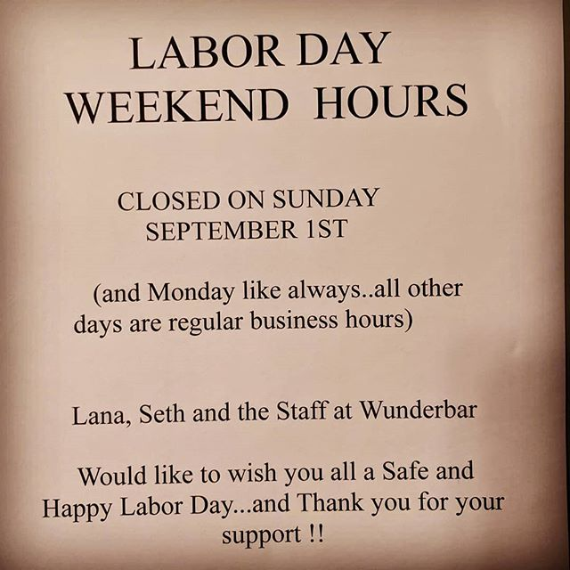 Wow ...has this summer gone fast and school has already started so enjoy your long beautiful weekend here in PA and have a safe and happy Labor Day!!☕🌞😁 #laborday #wunderbarharmony #historicharmony #pittsburghfoodie #pittsburghfood #coffee #crepes
